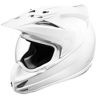 Casque Cross ICON Variant Solid White