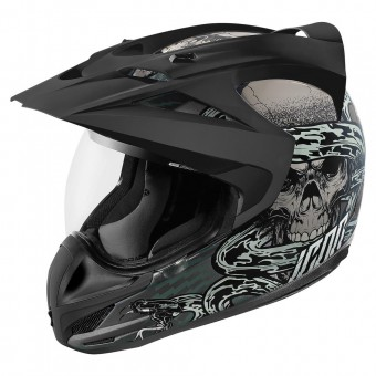 Casque Cross ICON Variant Vitriol Grey