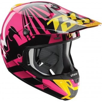 Casque Cross Thor Verge Dazz Magenta Black