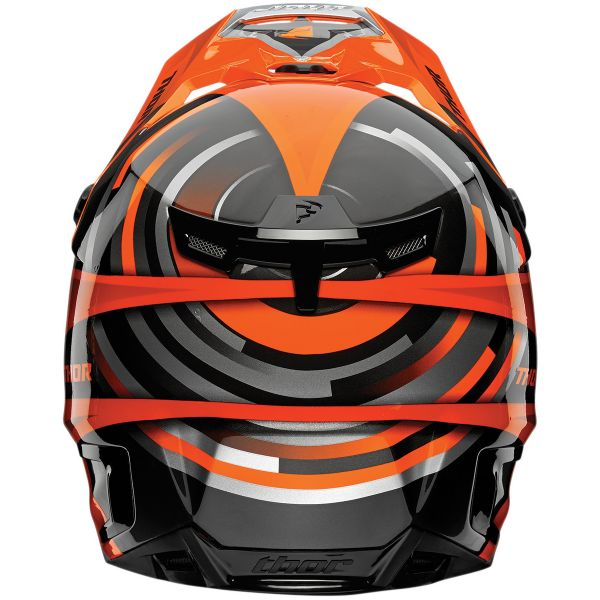 Thor Verge Vortechs Flo Orange Grey