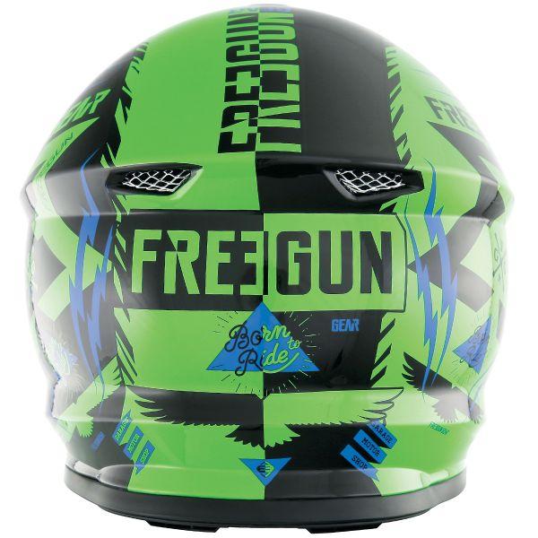Freegun XP-4 Trooper Neon Green Blue