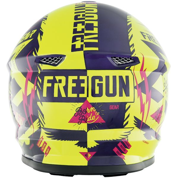 Freegun XP-4 Trooper Neon Yellow Magenta
