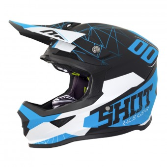 Casque Enfant SHOT Furious Spectre Black Blue Enfant