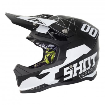 Casque Enfant SHOT Furious Venom Black White Enfant