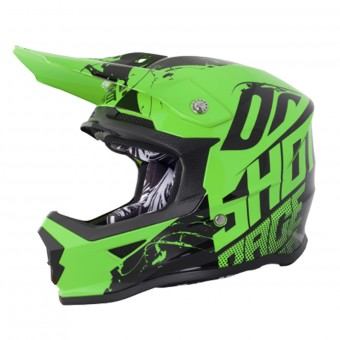 Casque Enfant SHOT Furious Venom Neon Green Enfant