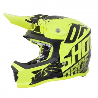 Casque Enfant SHOT Furious Venom Neon Yellow Enfant