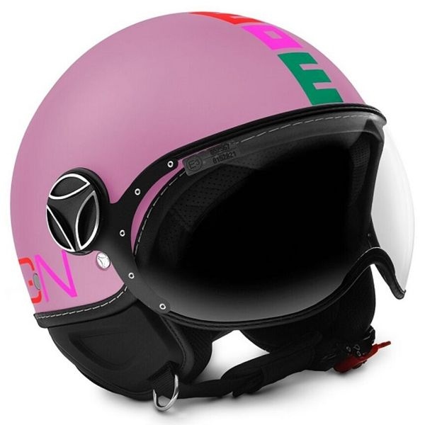 Casque Enfant Momo Design FGTR Baby 2 Pink Mat Multicolor