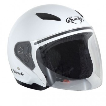 Casque Enfant Stormer Flash Kid Blanc
