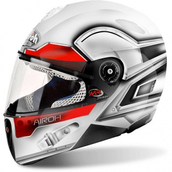Casque Enfant Airoh Mr Strada Lunar White