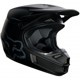 Casque Enfant FOX V1 Race Matte Black Enfant 255