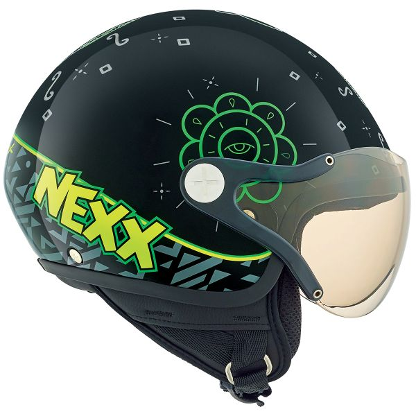 Casque Enfant Nexx X60 Kids Goomy Black Green