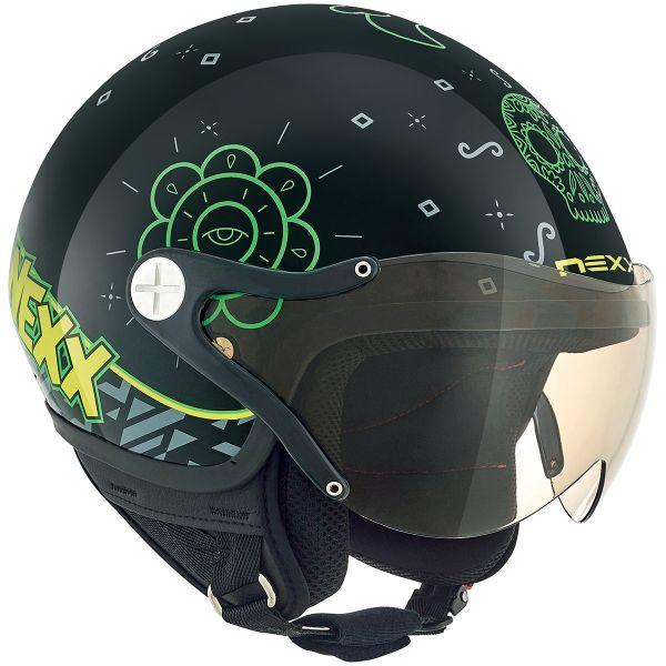 Nexx X60 Kids Goomy Black Green