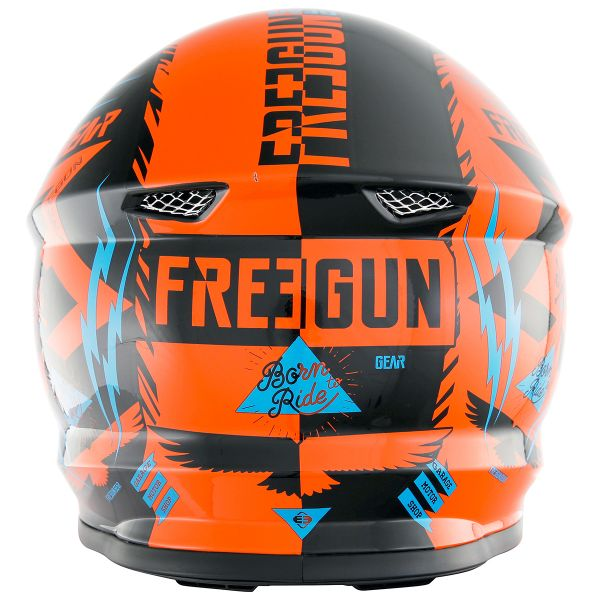 Freegun XP-4 Trooper Neon Orange Cyan Enfant