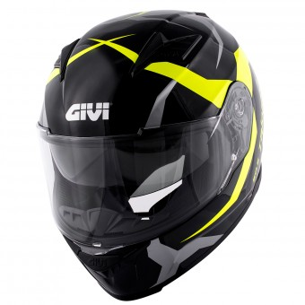 Casque Integral Givi 50.5 Tridion Vortix Black Yellow