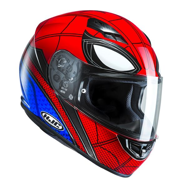 casque hjc cs 15 spiderman en stock. Black Bedroom Furniture Sets. Home Design Ideas