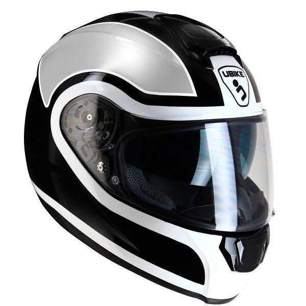Casque Integral UBIKE Chronos Racing Silver