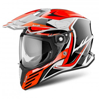 Casque Integral Airoh Commander Carbon Orange