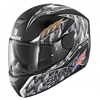 Casque Integral Shark D-Skwal Replica Fogarty Mat KAS