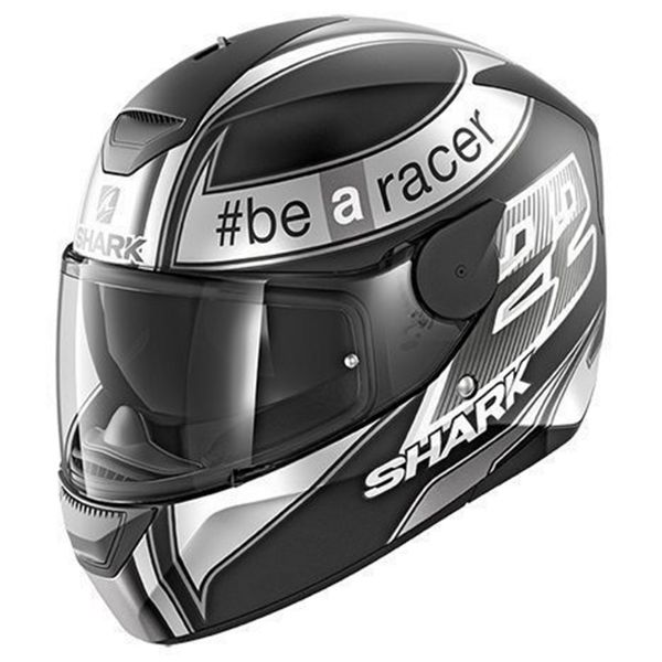 Casque Integral Shark D-Skwal Replica Sam Lowes Mat KAW