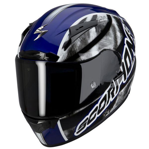 Casque Integral Scorpion EXO 2000 Air Sidewall Bleu