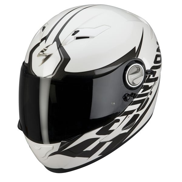 Casque Integral Scorpion EXO 500 Air Blade Blanc Hypersilver