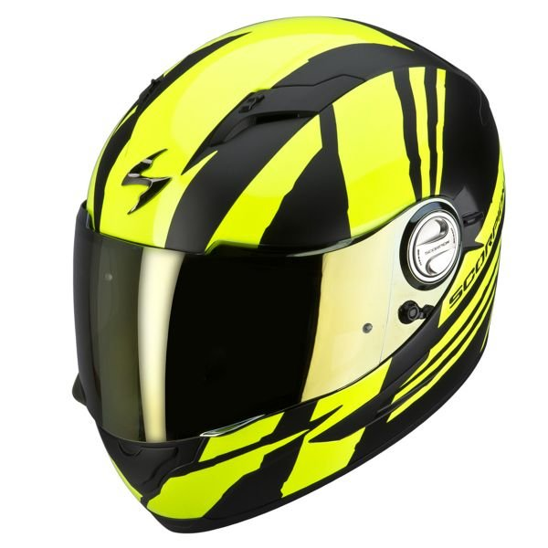 Casque Integral Scorpion EXO 500 Air Thunder Jaune Noir