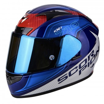Casque Integral Scorpion EXO 710 Air Mugello Blue White