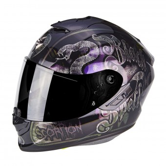 Casque Integral Scorpion Exo 1400 Air Blackspell Chameleon Black