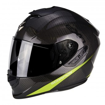 Casque Integral Scorpion Exo 1400 Air Carbon Pure Neon Yellow