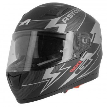 Casque Integral Astone GT 900 Arrow Matt Grey