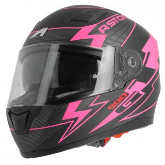 Casque Integral Astone GT 900 Arrow Matt Pink