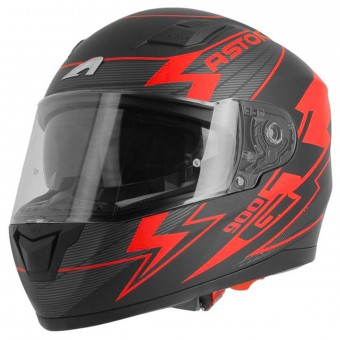 Casque Integral Astone GT 900 Arrow Matt Red