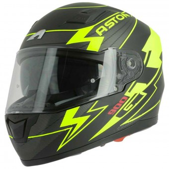 Casque Integral Astone GT 900 Arrow Matt Yellow