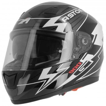 Casque Integral Astone GT 900 Arrow White