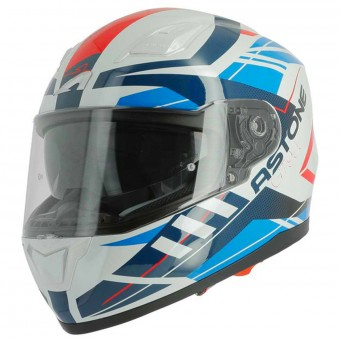Casque Integral Astone GT 900 Street Red Blue