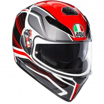 Casque Integral AGV K3 SV Proton Black Red