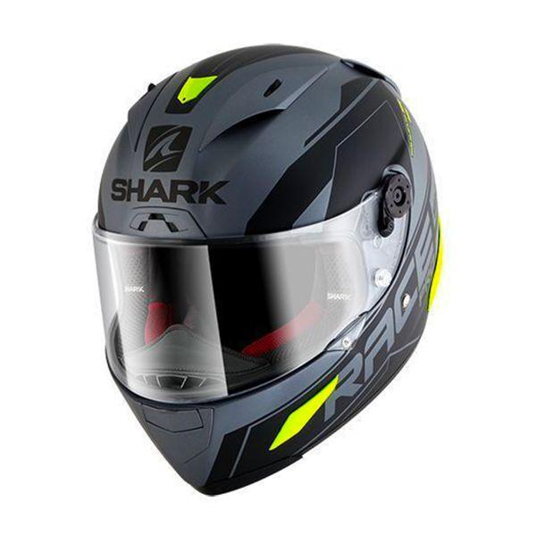 Casque Integral Shark Race-R Pro Sauer Mat AKY