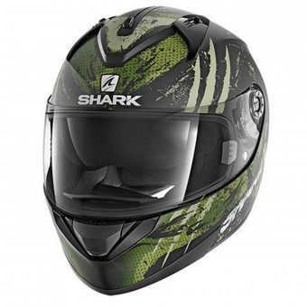 Casque Integral Shark Ridill Threezy Mat KWG