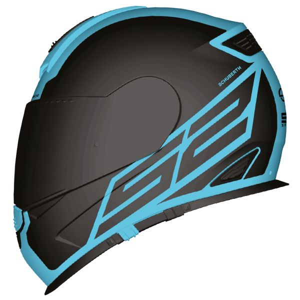Casque Integral Schuberth S2 Sport Traction Blue