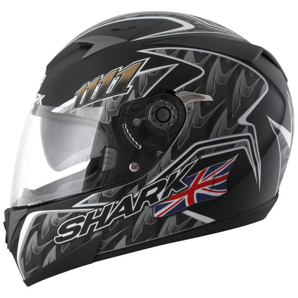 Casque Shark S700 S Foggy Mat 20th Birthday Kbs Pinlock Au Meilleur