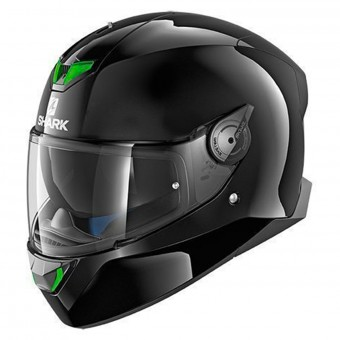 Casque Integral Shark Skwal 2 Blank BLK