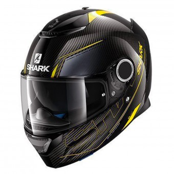 Casque Integral Shark Spartan Carbon Silicium DYA
