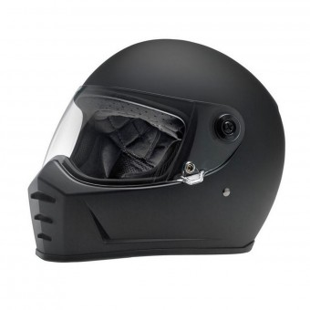 Casque Integral Biltwell Splitter Flat Black