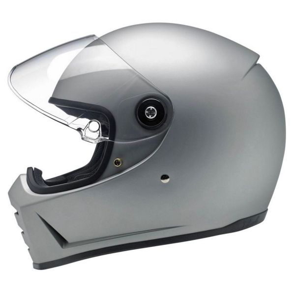 Biltwell Splitter Flat Silver