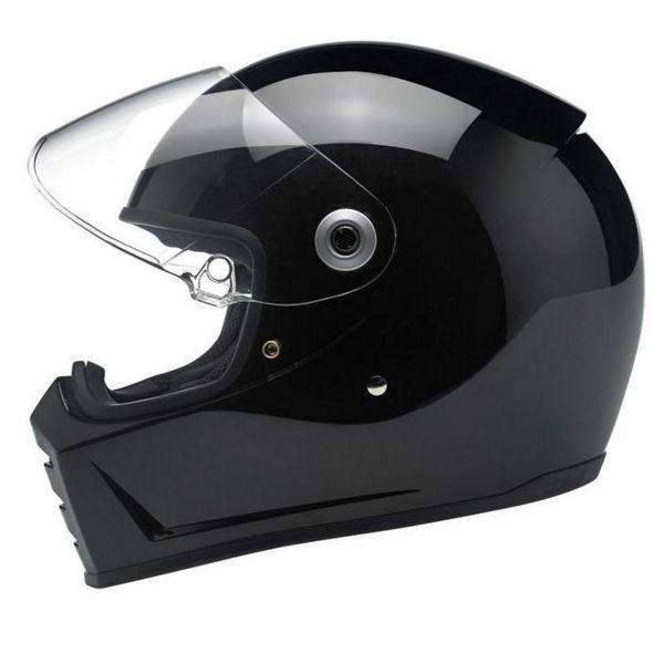 Biltwell Splitter Gloss Black