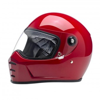 Casque Integral Biltwell Splitter Gloss Blood Red