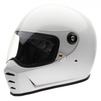 Casque Integral Biltwell Splitter Gloss White