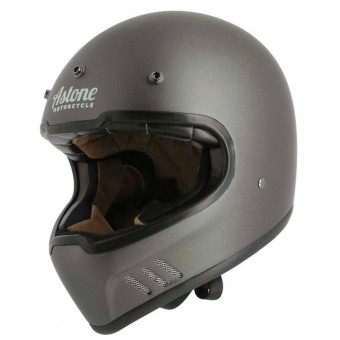 Casque Integral Astone Super Retro Matt Grey