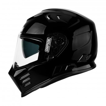 Casque Integral Simpson Venom Solid Glossy Black