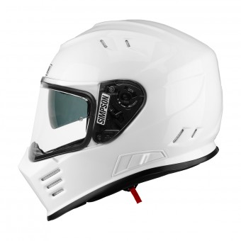 Casque Integral Simpson Venom Solid Glossy White